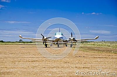 Light private plane