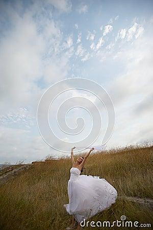 Light and pure (bride portrait)