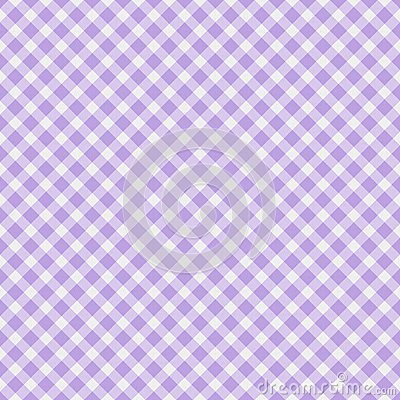 Light purple Gingham Fabric  Background