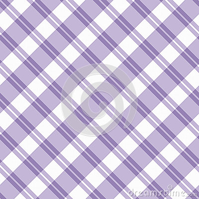 Light purple Plaid Fabric Background