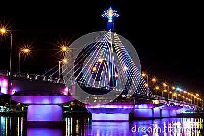 Light Show at Song Han Bridge