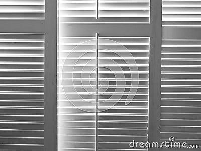Light through shutters