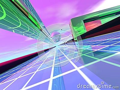 Light Speed Data Transfer