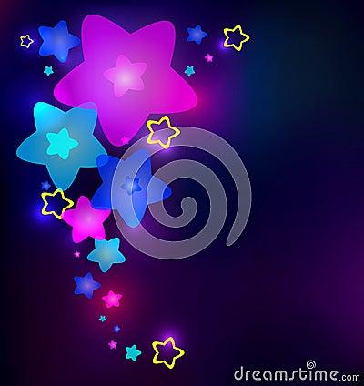 Light stars in the dark