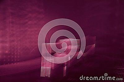 Light streaks background