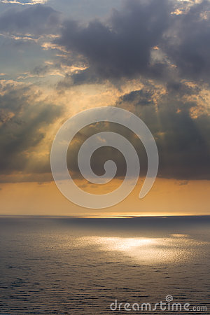 Light from sun ray