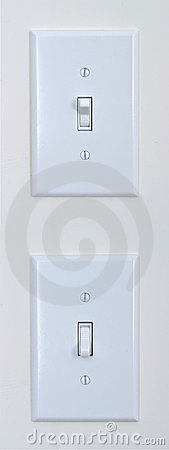 Free Light Switch Royalty Free Stock Image - 4045366