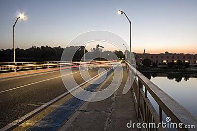 Light Tracks on the Bridge