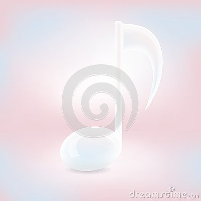 Light Vector Music Note