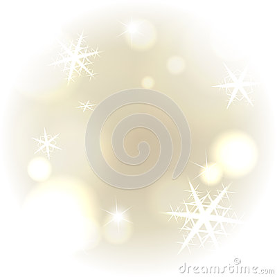 Light warm snowy background
