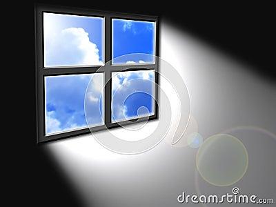 Light from window