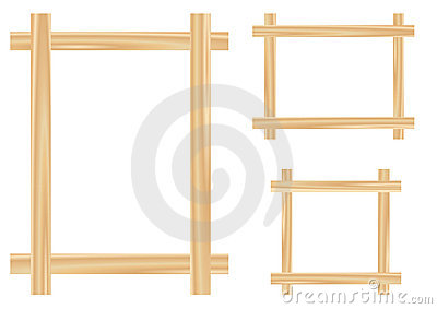 Light wooden framework