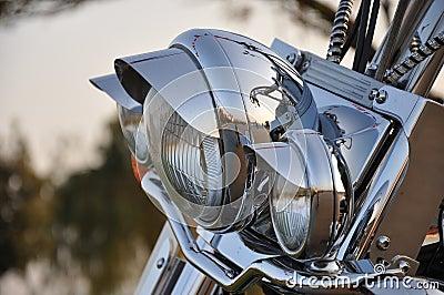 Lightbar auf Fahrrad