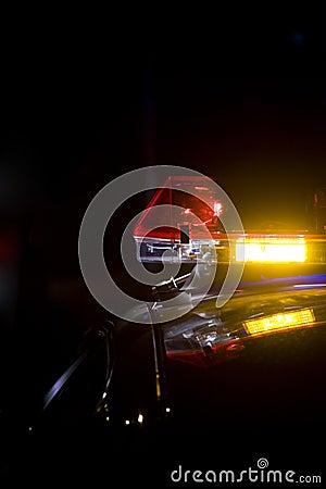 Lightbar policja