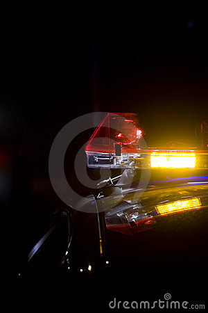 Lightbar polis