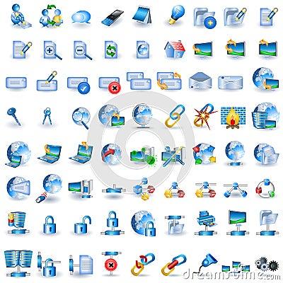 Lightblue network icons