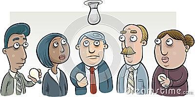 lightbulb-change-committee-group-cartoon