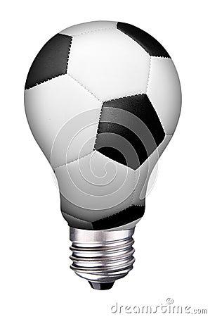 Lightbulb soccer