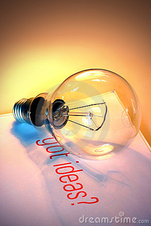 Free Lightbulb With Got Ideas Stock Photography - 2252652