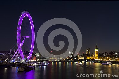 Lighted Ferrys Wheel Near Body Of Water During Nighttime Free Public Domain Cc0 Image