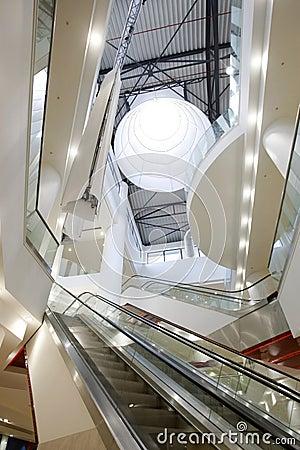 Lighted mall