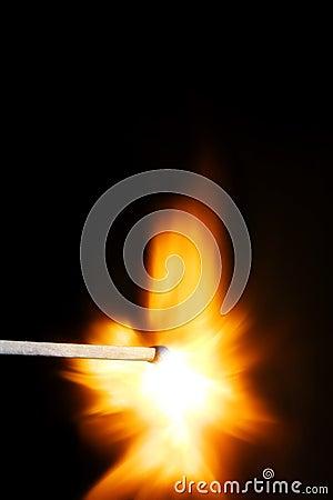 Lighted Match Stick Free Public Domain Cc0 Image