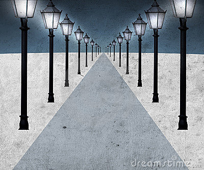 Lighted pathway