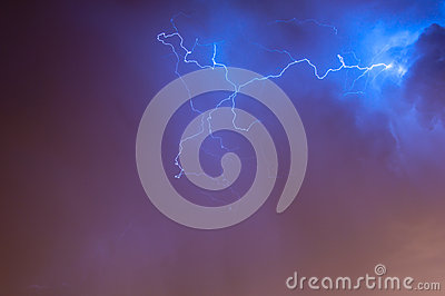 Lightening Skyscape