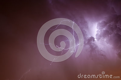 Lightening Skyscape