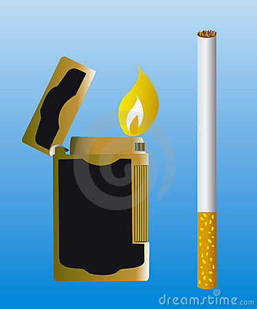 Free Lighter Royalty Free Stock Photos - 5366628