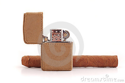 Lighter and cigar