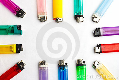 Lighters Colorful