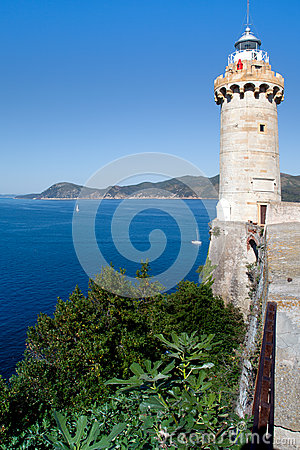 Lighthouse Above The Sea, Portoferraio