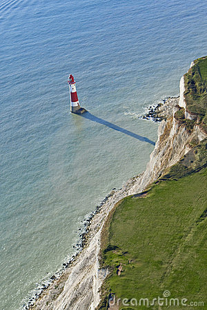 Free Lighthouse At Beachy Head, East Sussex, Eng Royalty Free Stock Image - 13494566