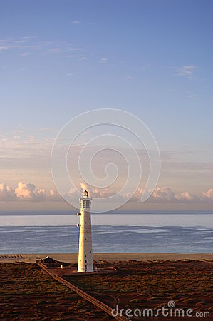 Free Lighthouse At Morro Jable Stock Image - 38762691