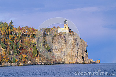 Lighthouse In Autumn