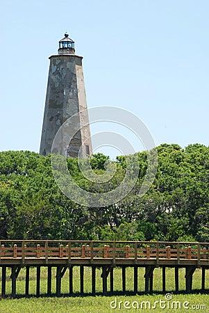 Lighthouse on Bald Head