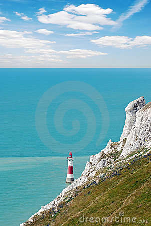 Lighthouse at beachy head