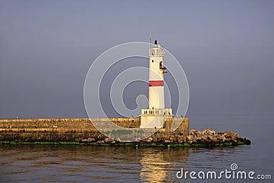 Lighthouse at Bosphorus strait
