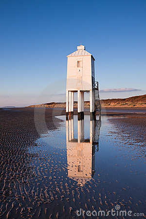 Lighthouse, Burnham-on-Sea, Somerset,  UK