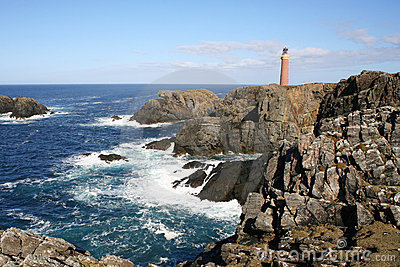 Lighthouse, of Lewis, Hebrides