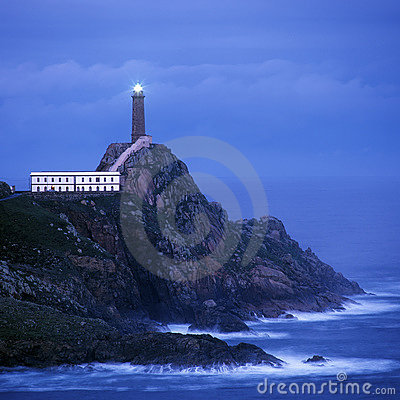 Lighthouse, Cabo Vilan,