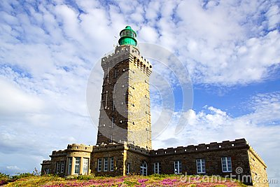 Lighthouse on Cap Frehel. France