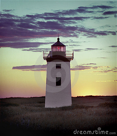 Lighthouse,cape Cod Royalty Free Stock Photo - Image: 3267045