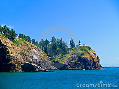 Lighthouse - Cape Disappointment WA USA