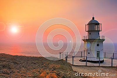 Lighthouse on the coast