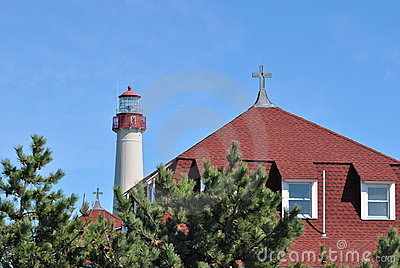 Lighthouse and Convent