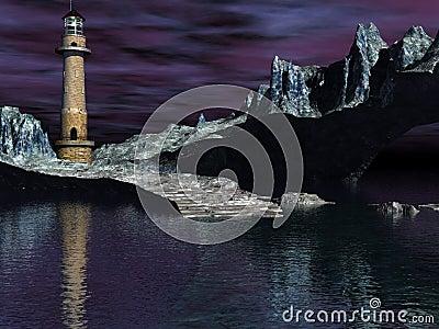 Lighthouse cove stark