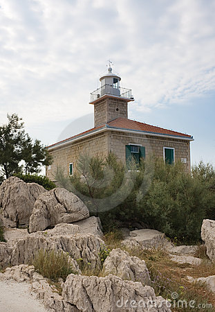 Lighthouse. Croatia