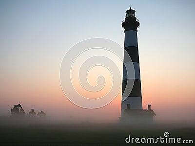 Lighthouse dawn